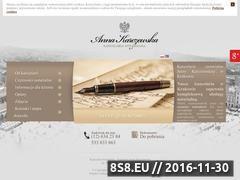 Miniaturka domeny www.notariuszkarczewska.pl