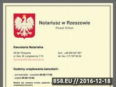 Miniaturka domeny notariuszkilian.pl