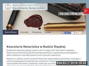 Zrzut strony Notariusze Bytom - kancelaria notarialna