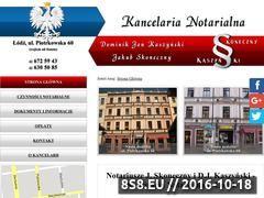 Miniaturka domeny www.notariuszwlodzi.com.pl