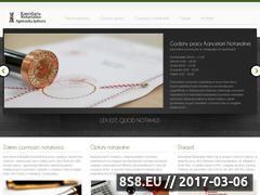 Miniaturka domeny www.notariuszzabrze.com.pl