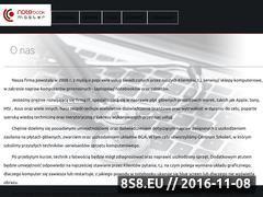 Miniaturka domeny www.notemaster.pl