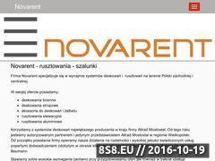 Miniaturka domeny www.novarent.pl