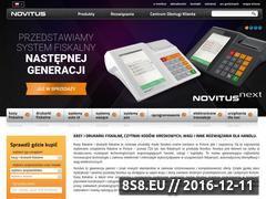 Miniaturka domeny www.novitus.pl