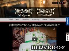 Miniaturka domeny www.novocainaclub.com