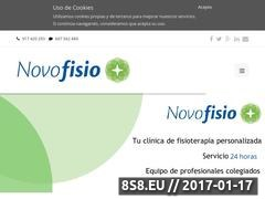 Thumbnail of Fisioterapia Novofisio Website