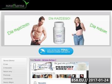 Zrzut strony Novoslim - skuteczne tabletki na odchudzanie - opinie i sklep