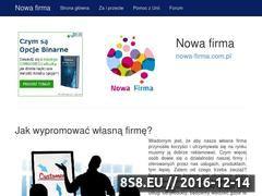Miniaturka domeny nowa-firma.com.pl