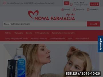 Zrzut strony NowaFarmacja.pl - apteka internetowa