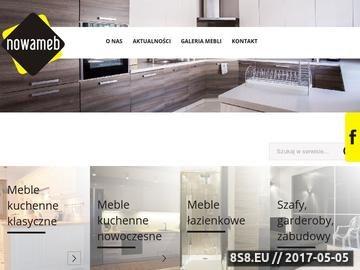 Zrzut strony Nowameb - produkcja mebli kuchennych