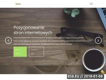 Zrzut strony Nowa Pozycja - Marketing Szeptany