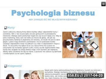 Zrzut strony Vadim Rekel Coaching i Nowa Psychologia Biznesu