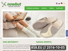 Miniaturka domeny nowbut.pl