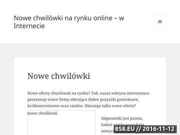 Zrzut strony Nowe pożyczki na rynku polskim