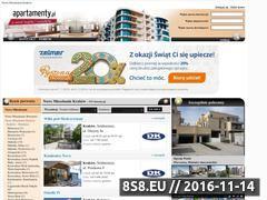 Miniaturka domeny www.nowemieszkaniakrakow.apartamenty.pl