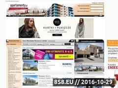 Miniaturka domeny www.nowemieszkaniawarszawa.apartamenty.pl