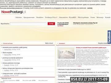 Zrzut strony Wszystko o zamówieniach publicznych - wiedza, przepisy, aktulności i porady