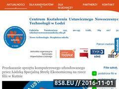 Miniaturka domeny nowoczesnaszkola.edu.pl
