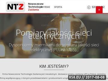 Zrzut strony Serwis UPS Warszawa