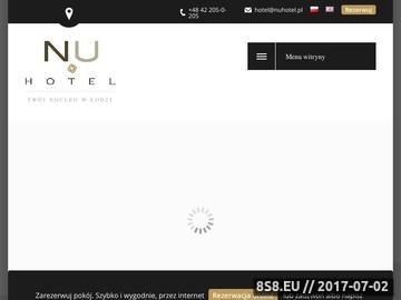 Zrzut strony Nu Hotel