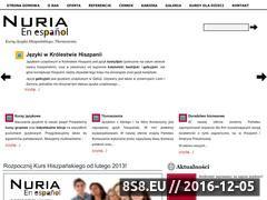 Miniaturka Kursy języka Hiszpańskiego (nuria.pl)