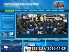 Miniaturka domeny www.nurkowaniekrakow.pl