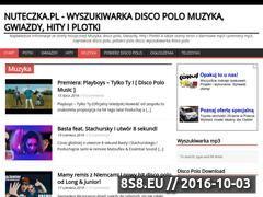 Miniaturka domeny nuteczka.pl