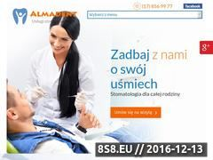 Miniaturka domeny www.nzozalmadent.pl
