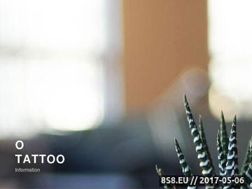 Zrzut strony TATUAŻE - Wzory tattoo, Piercing