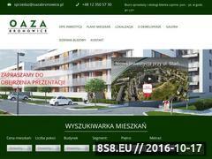 Miniaturka domeny www.oazabronowice.pl