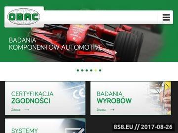 Zrzut strony Certyfikacja