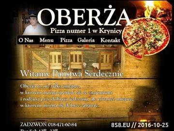 Zrzut strony Swojskie Jadło restauracja w Krynica Zdroju