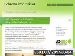Miniaturka domeny obowiazkiochronasrodowiska.wordpress.com