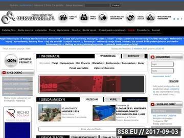 Zrzut strony Portal cnc