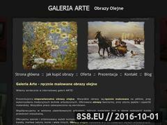 Miniaturka domeny www.obrazyarte.pl