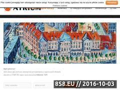 Miniaturka domeny www.obrazywatrium.pl
