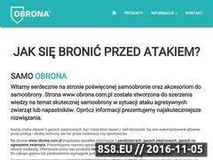 Miniaturka domeny obrona.com.pl
