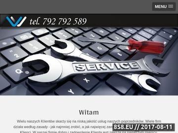 Zrzut strony Outsourcing informatyczny