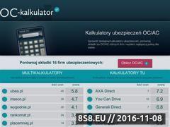 Miniaturka domeny oc-kalkulator.pl