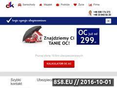 Miniaturka domeny ocubezpieczenia.pl