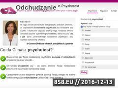 Miniaturka domeny odchudzanie.e-psychotest.net