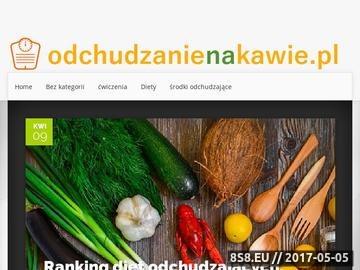 Zrzut strony Odchudzanienakawie.pl - preparaty z zielonej kawy