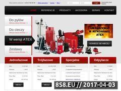 Miniaturka domeny www.odkurzacze-przemyslowe.com.pl