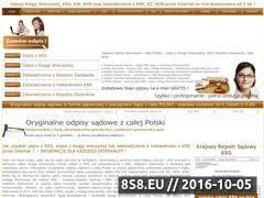 Miniaturka domeny www.odpisy.com.pl