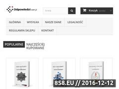 Miniaturka domeny www.odpowiedzi.com.pl