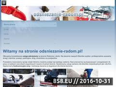 Miniaturka domeny odsniezanie-radom.pl