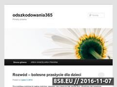 Miniaturka domeny odszkodowania365.wordpress.com