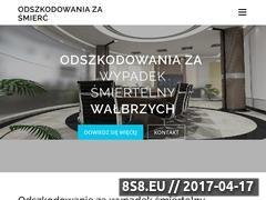 Miniaturka domeny odszkodowanie-za-smierc.pl