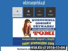 Miniaturka domeny odziezangielska.pl