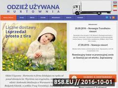 Miniaturka domeny www.odziezuzywana-hurtownia.pl